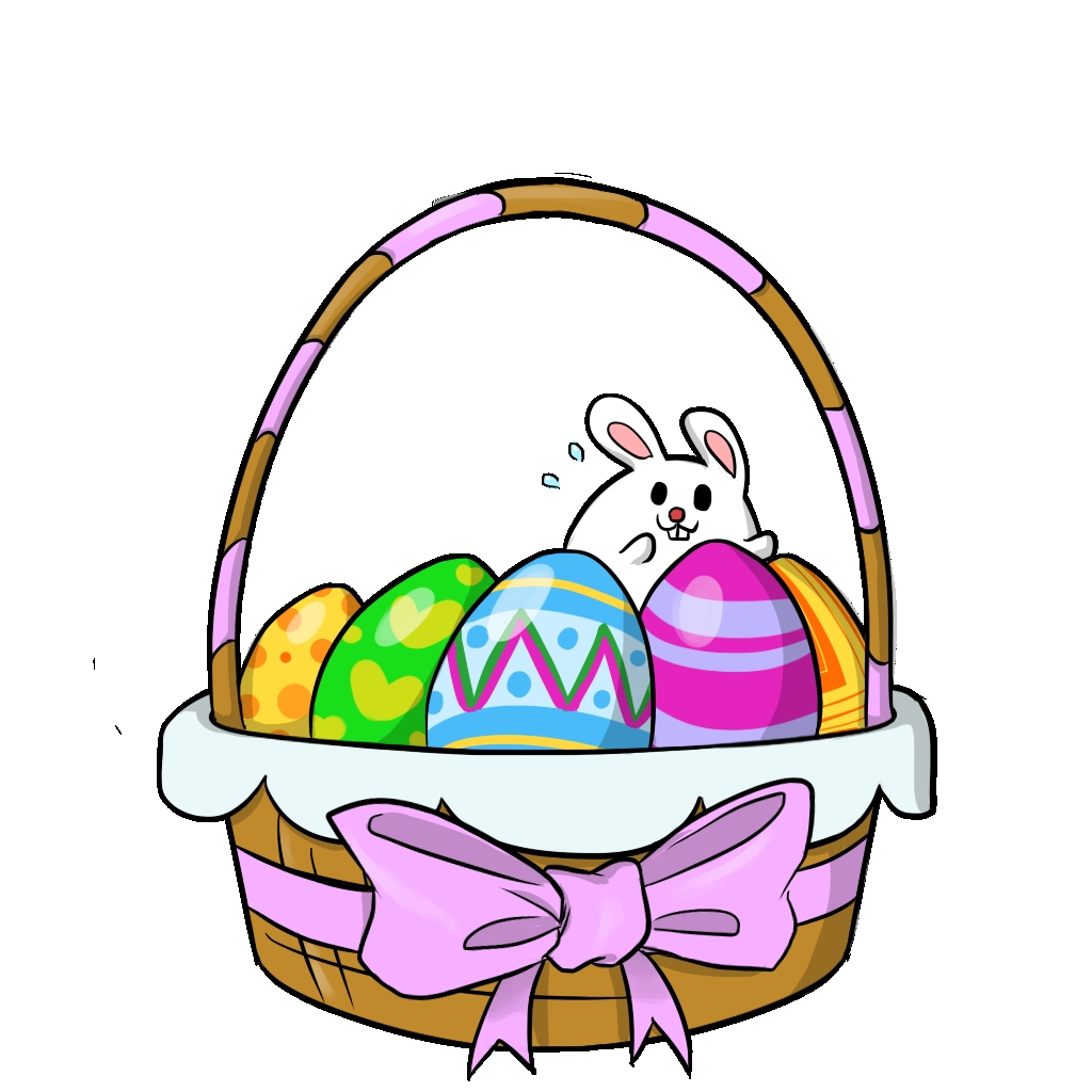 1024x1024 Best Of Easter Basket Clipart Gallery