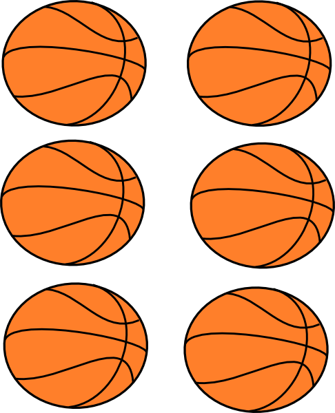 486x600 Basketball Clipart Free Printable Basketball Boarder Clip Art