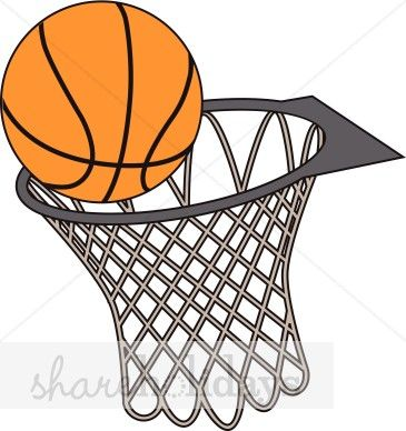 365x388 Best Basketball Net Clip Art