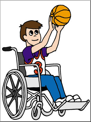 304x404 Clip Art Kids Boy Playing Basketball Color I Abcteach