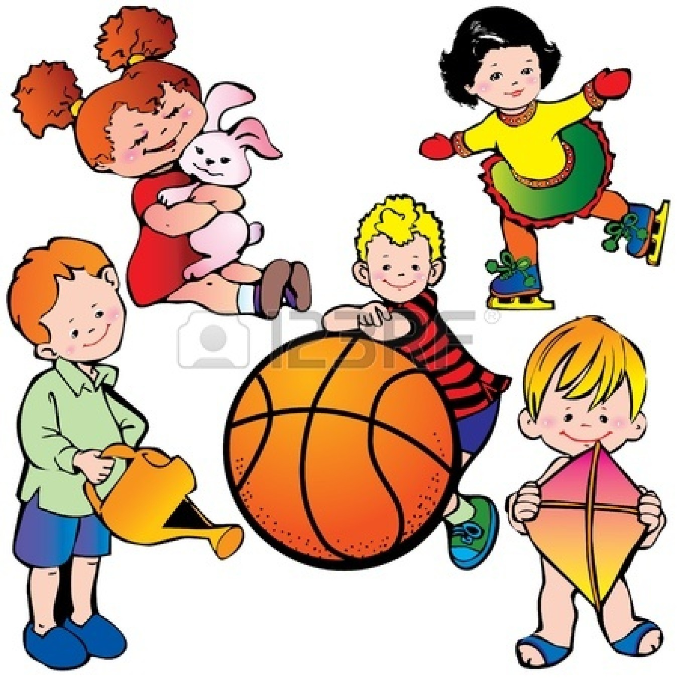 1350x1350 Kids Golf Clip Art Active Clipart Panda