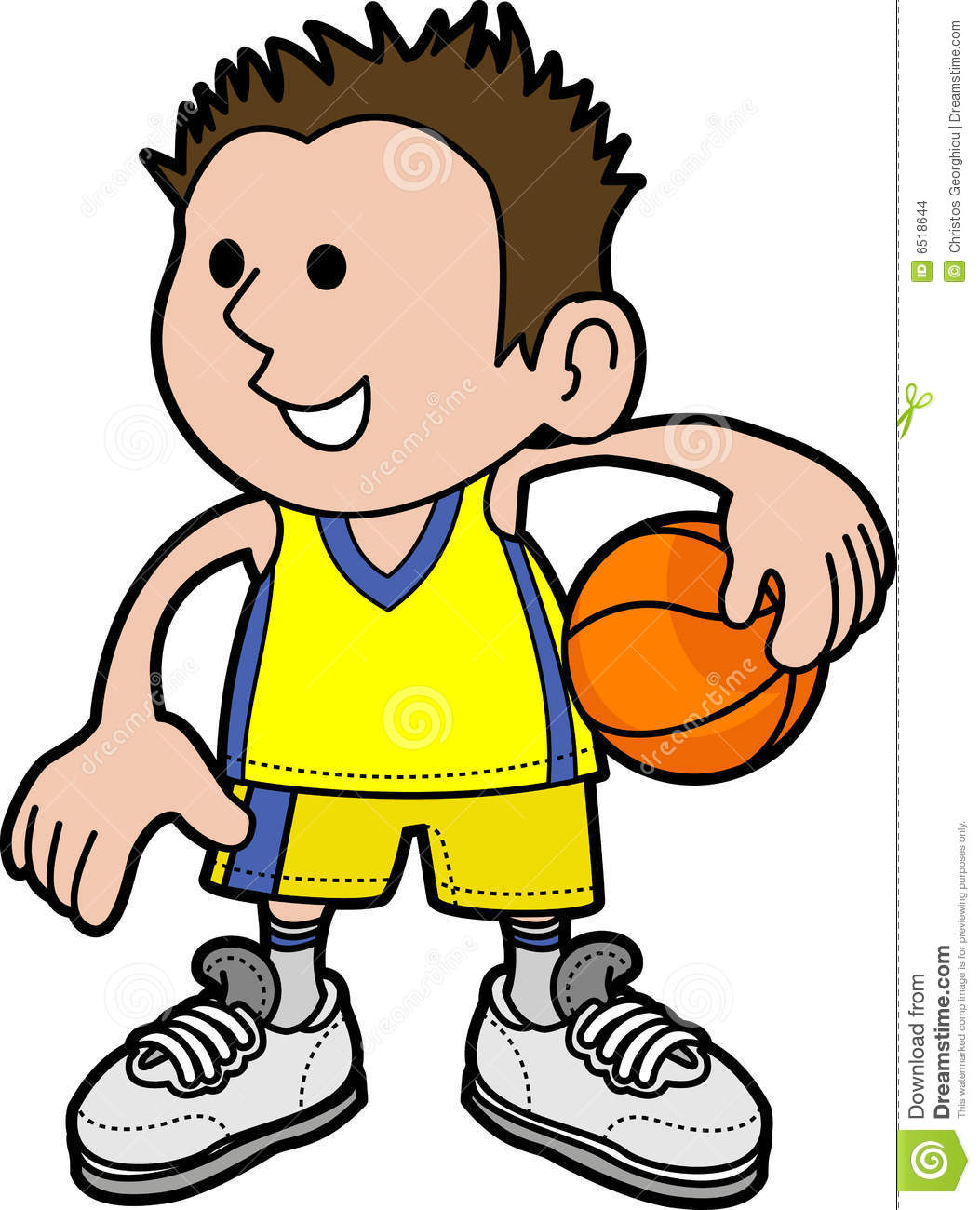 1053x1300 Sensational Basketball Player Clipart Of With Ball K16053893