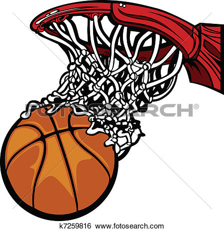 450x465 Clipart Basketball Free