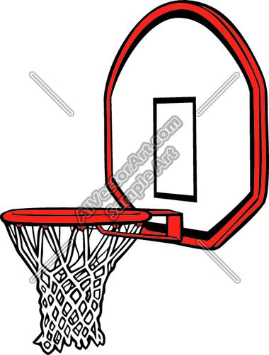 380x500 Basket Clipart Basketball Hoop