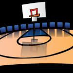150x150 Animated Basketball Court Cartoon Basketball Court Clip Art
