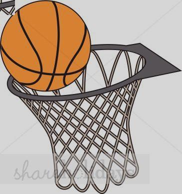 365x388 Basketball Net Clip Art