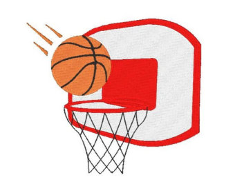 Basketball Goal Clipart