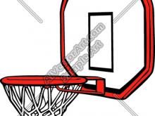 220x165 Basketball Goal Clipart Basketball Goal Clip Art Basketball Goal