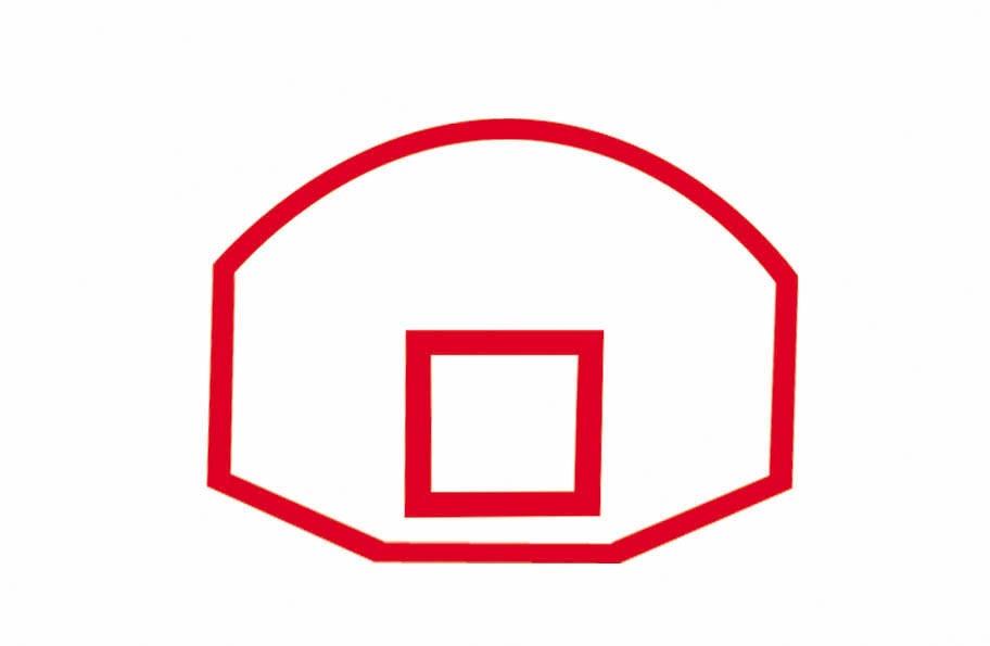 912x595 Basketball Hoop Backboard Clipart 101 Clip Art