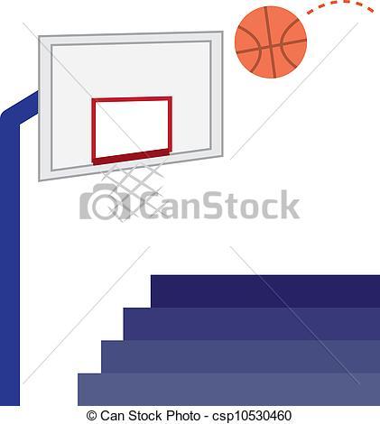 421x470 Basketball Hoop Basketball Hoop, Basketball And Bleachers