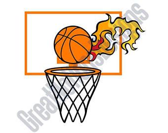 340x270 Basketball Hoop Art Etsy