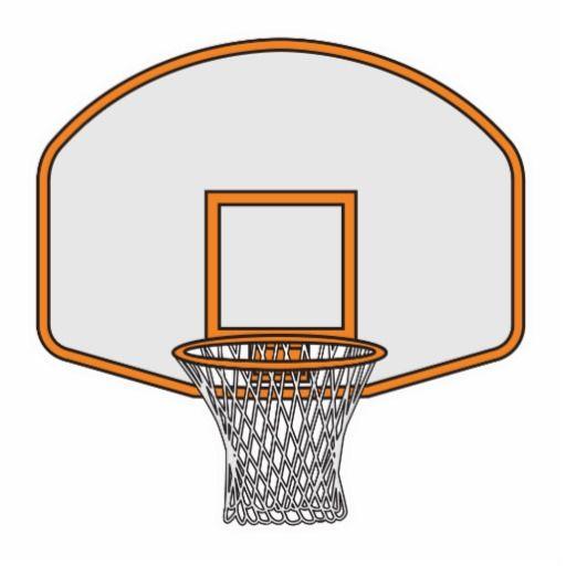512x512 Basketball Hoop Backboard Basketball Printables