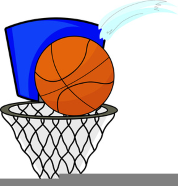 576x600 Free Basketball Hoop Clipart Free Images