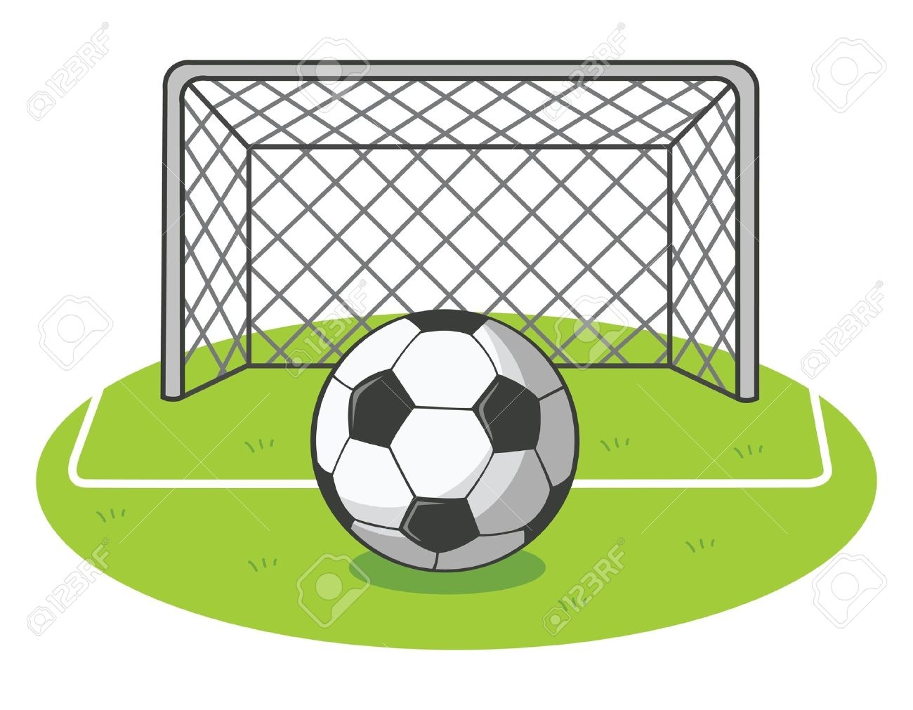 1300x1011 Goal Clip Art
