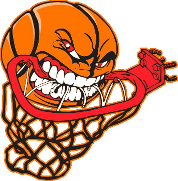590x600 Transparent Basketball Hoop
