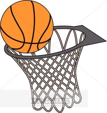 365x388 Basket Clipart Basketball Goal 3054860