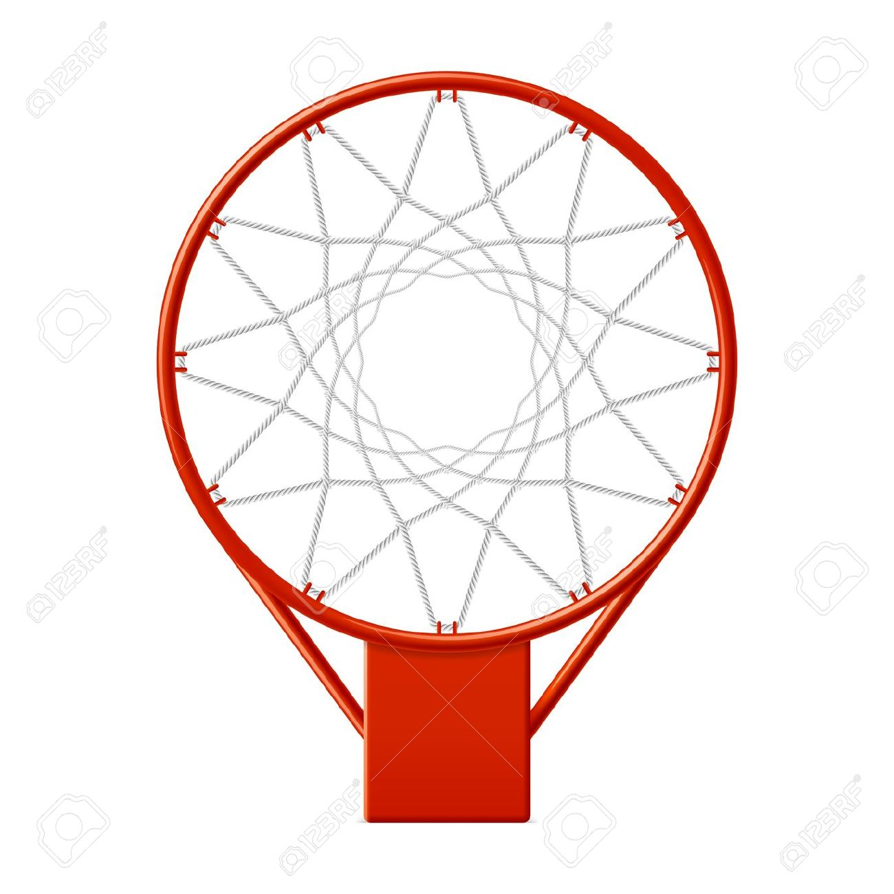 1300x1300 Basket Clipart Basketball Net
