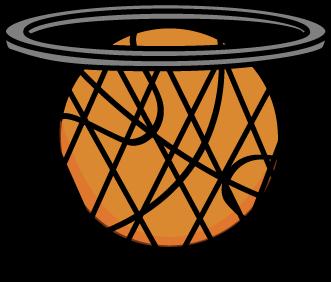 331x282 Basketball Clip Art