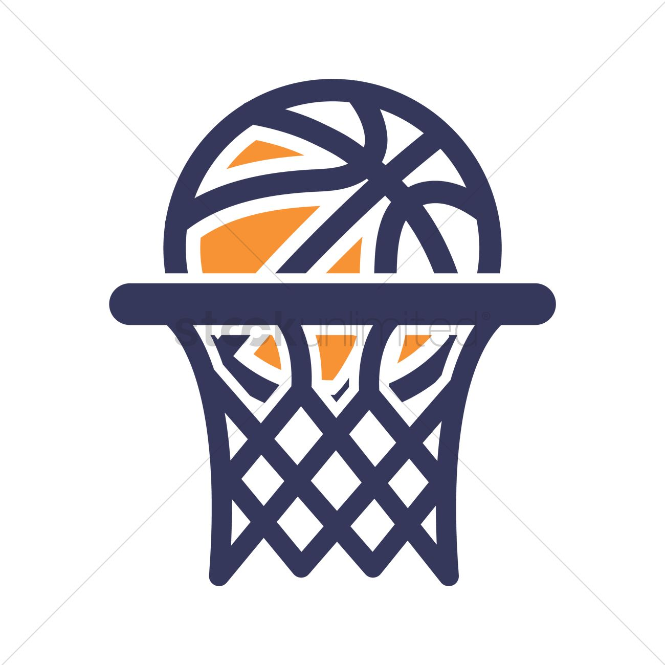 1300x1300 Basketball Hoop Icon Vector Image