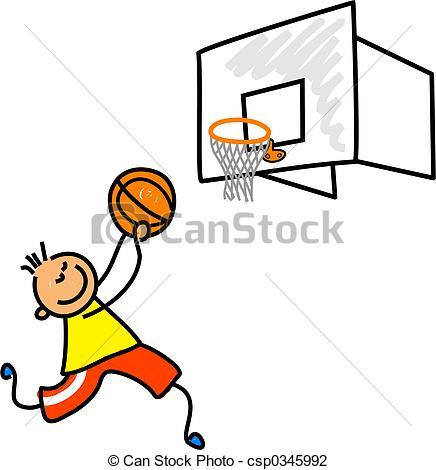 436x470 Basketball Kid. Little Boy Playing Basketball