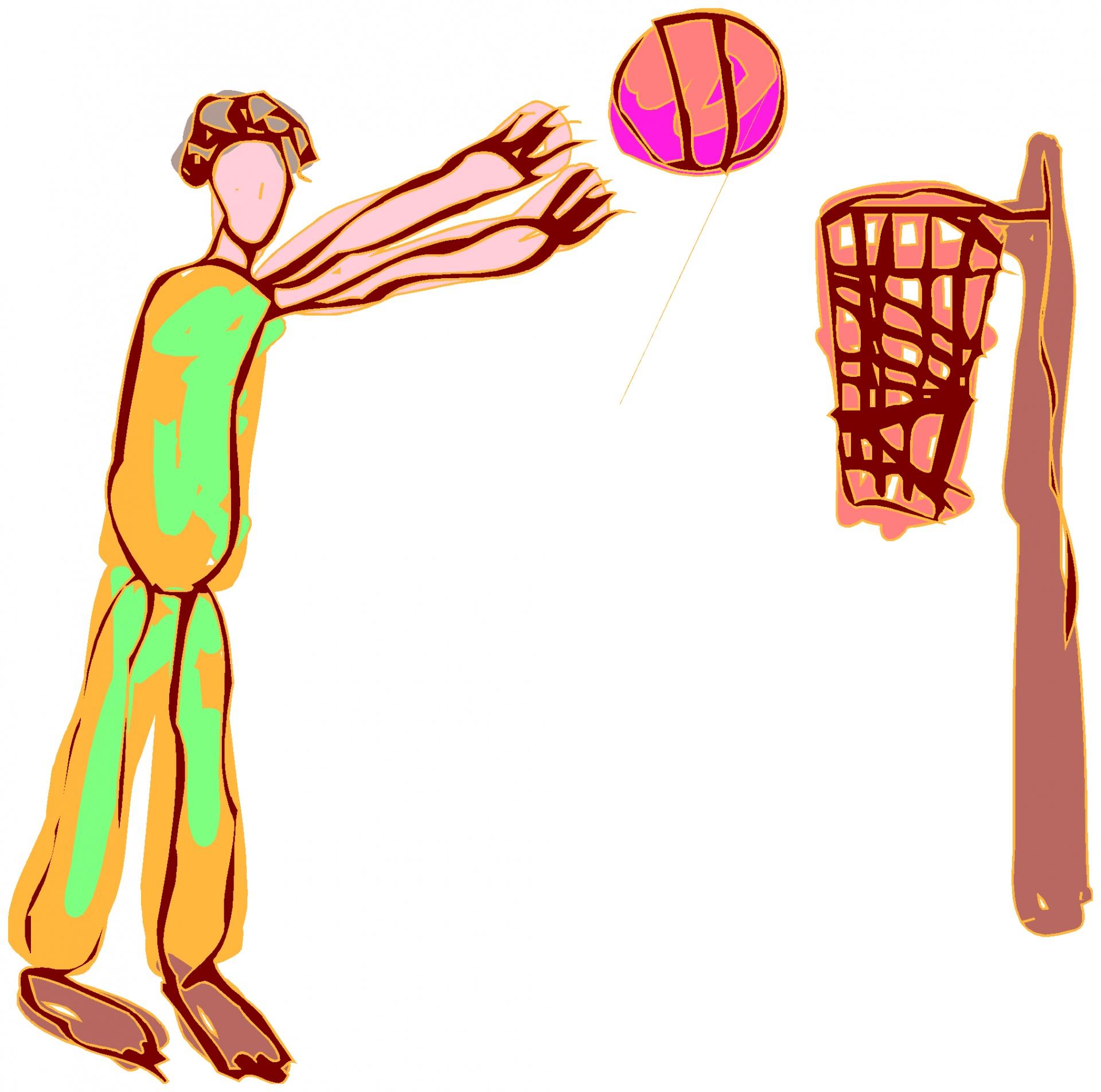 1920x1904 Cartoon Basketball Hoops