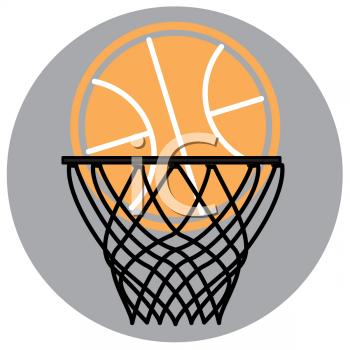 350x350 Basketball Clip Art