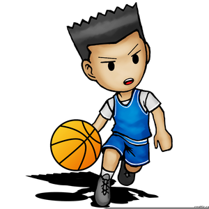 300x300 Boy Basketball Player Clipart Free Images