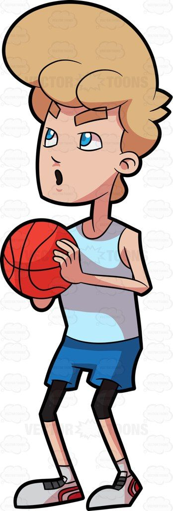 348x1024 Ponytail Clipart Basketball Player Free Collection Download
