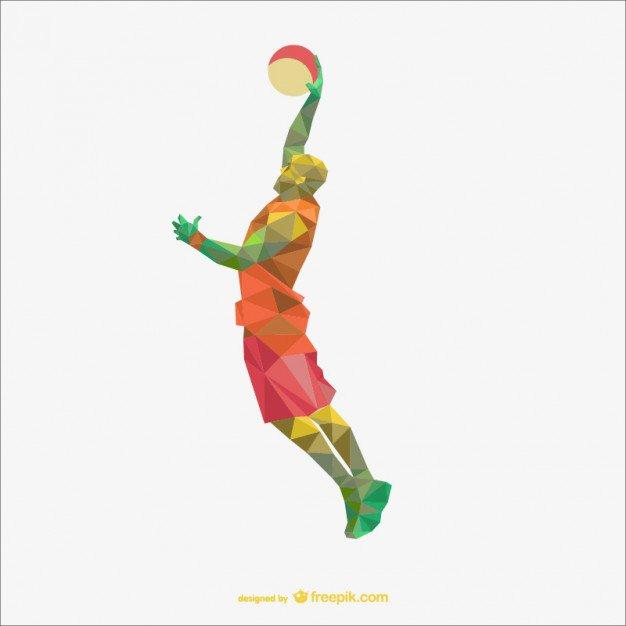626x626 Basketball Player Clip Art