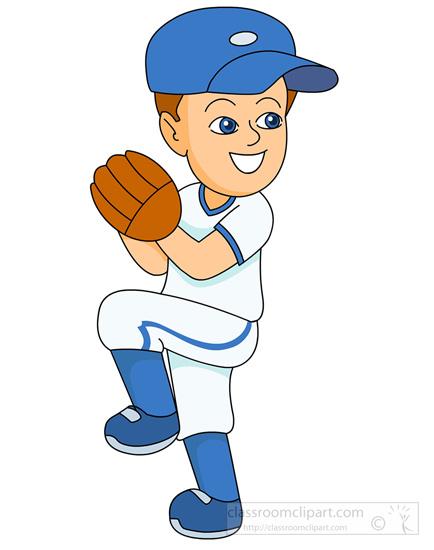 434x550 Baseball Players Clipart