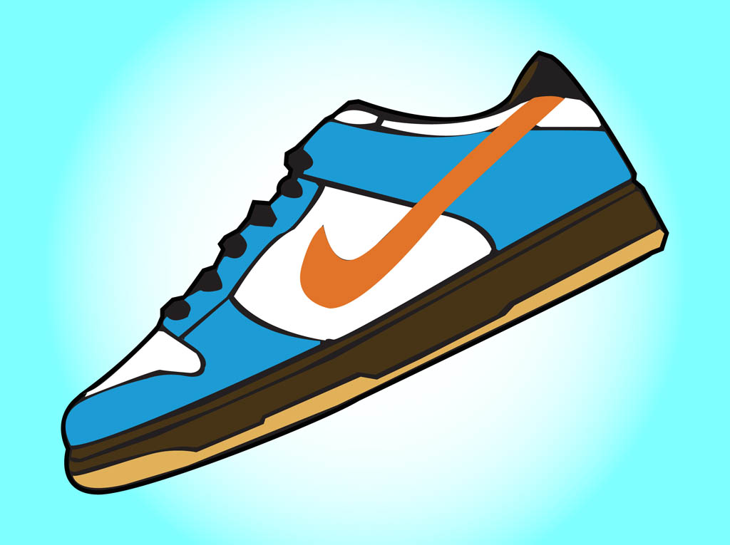 1024x765 Clip Art Basketball Sneakers Clipart