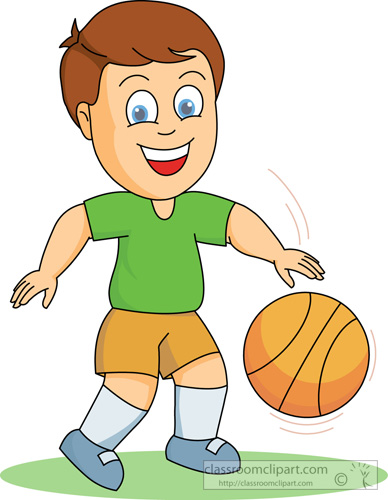 Basketball Team Clipart