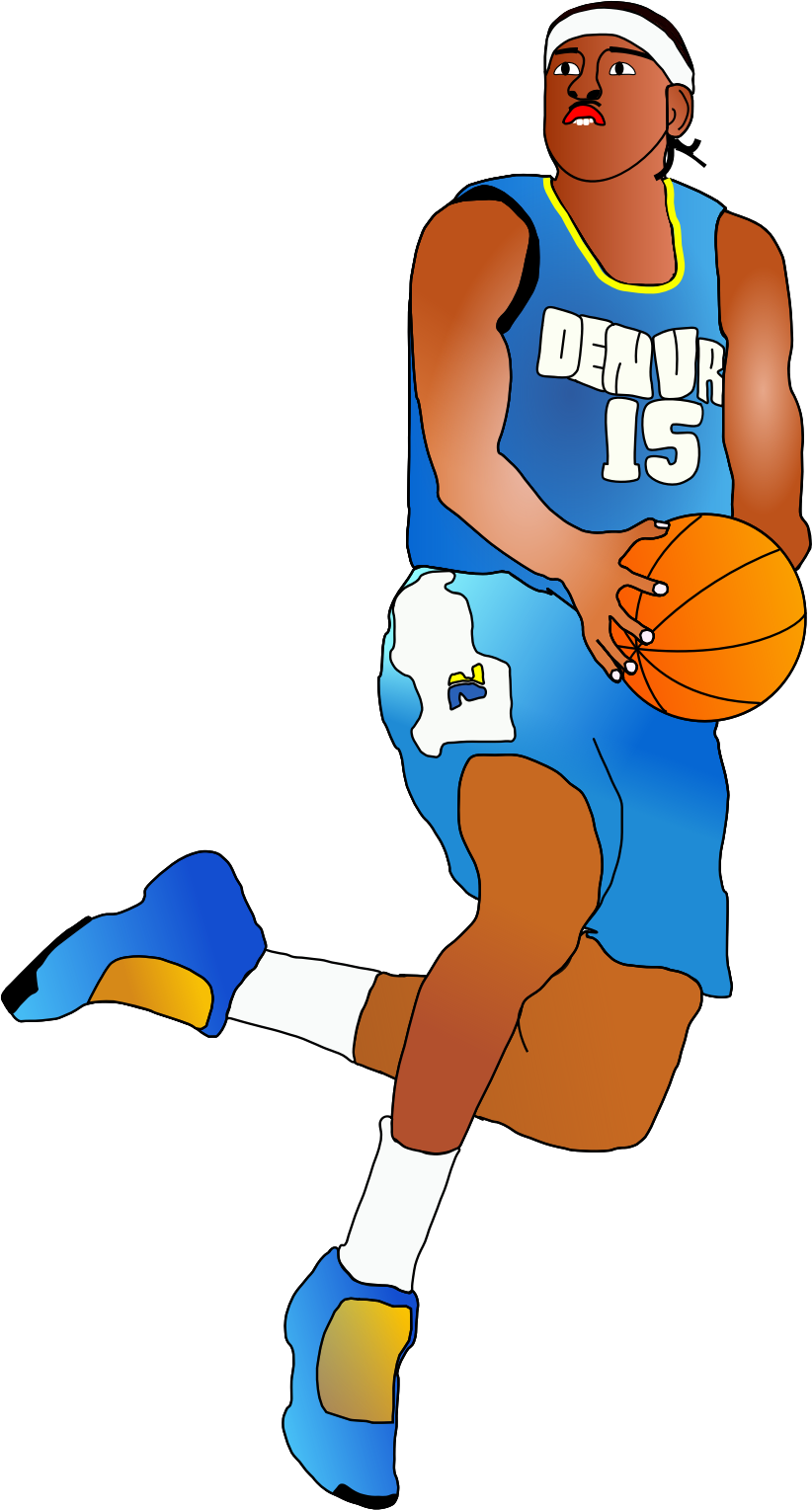 822x1529 Clipart Basketball Player Amp Clip Art Basketball Player Images