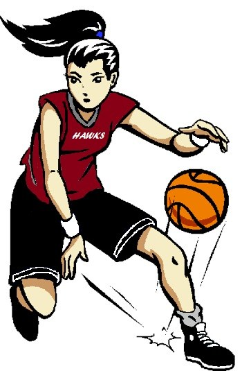 basketball team clipart at getdrawings com free for personal use rh getdrawings com girl basketball clipart free girl basketball player clipart