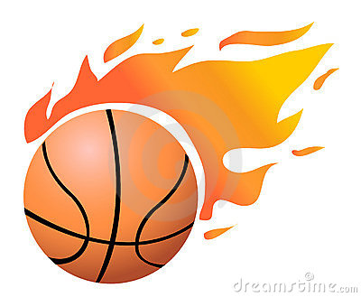 400x329 Flame Clipart Basketball