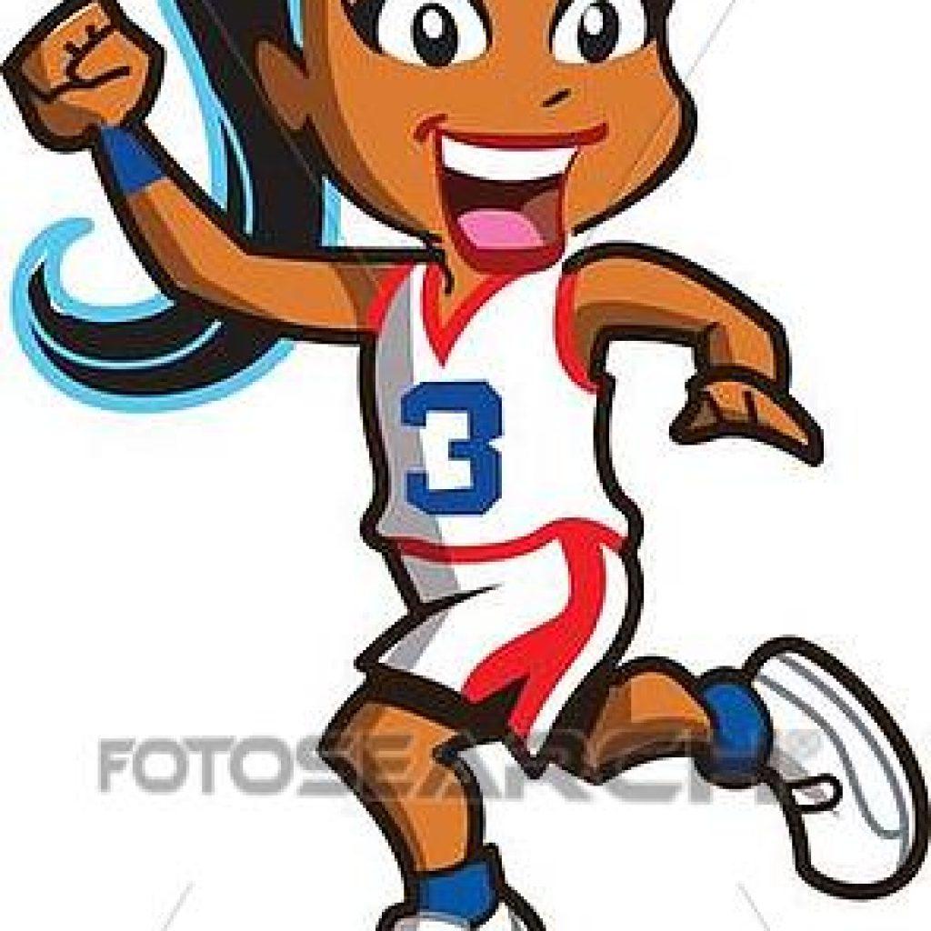 1024x1024 Girls Basketball Clip Art