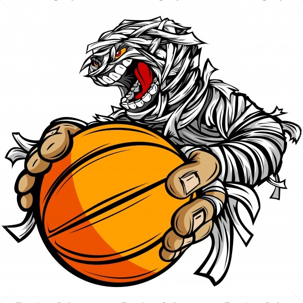 590x590 Mummy Basketball Clip Art