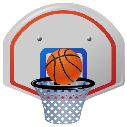 520x520 Basketball Clip Art Free Free Clip Art Download