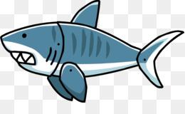 260x160 Great White Shark Bull Shark Tiger Shark Clip Art