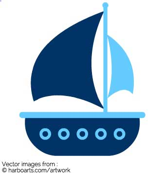 335x355 Boat Clipart Template