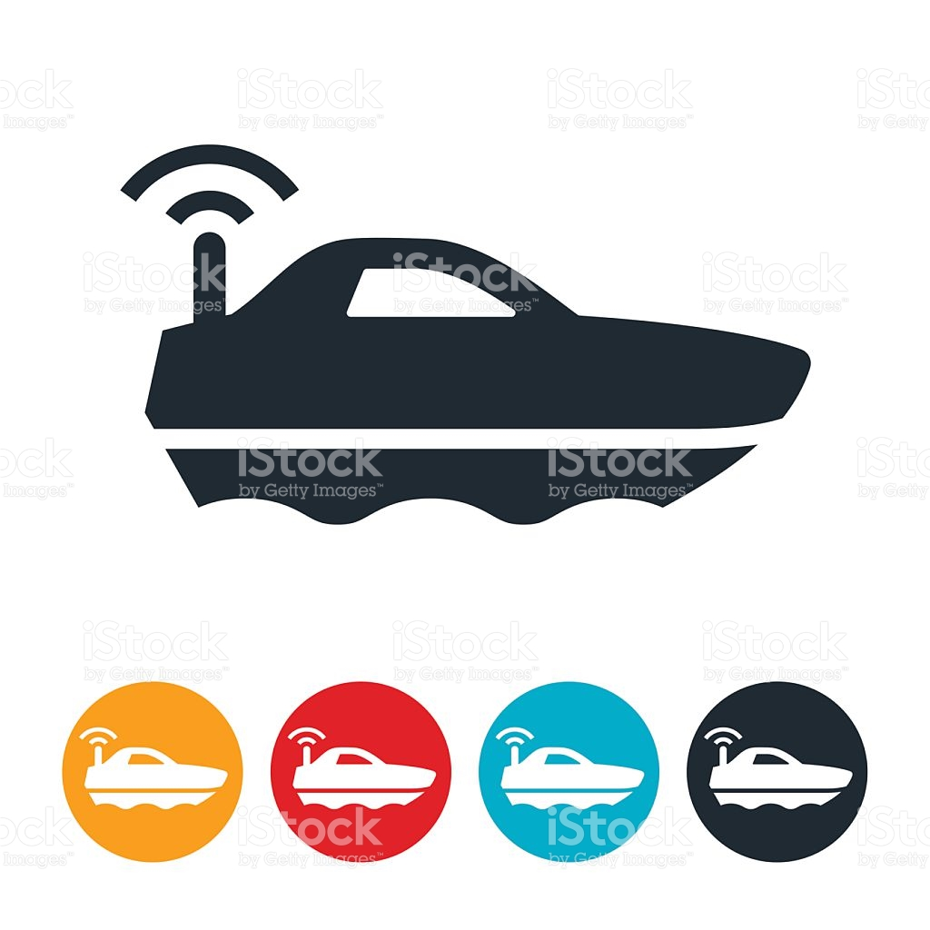 1024x1024 Radio Controlled Boat Clipart