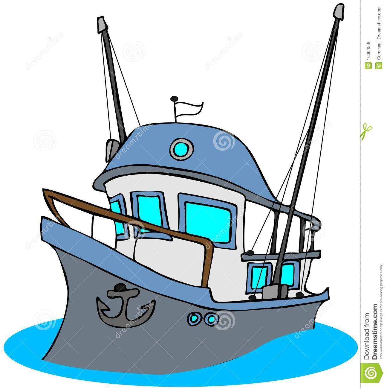 1295x1300 Collection Of Commercial Fishing Boat Clipart High Quality