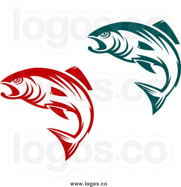 600x620 Jumping Fish Clipart