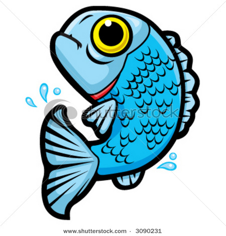 450x470 Jumping Fish Clipart