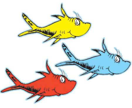 450x369 One Fish Two Fish Red Fish Blue Fish Clip Art 101 Clip Art