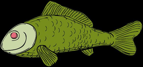 600x283 Cartoon Fish Clipart