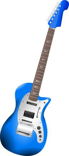 236x530 Bass Guitar Clip Art
