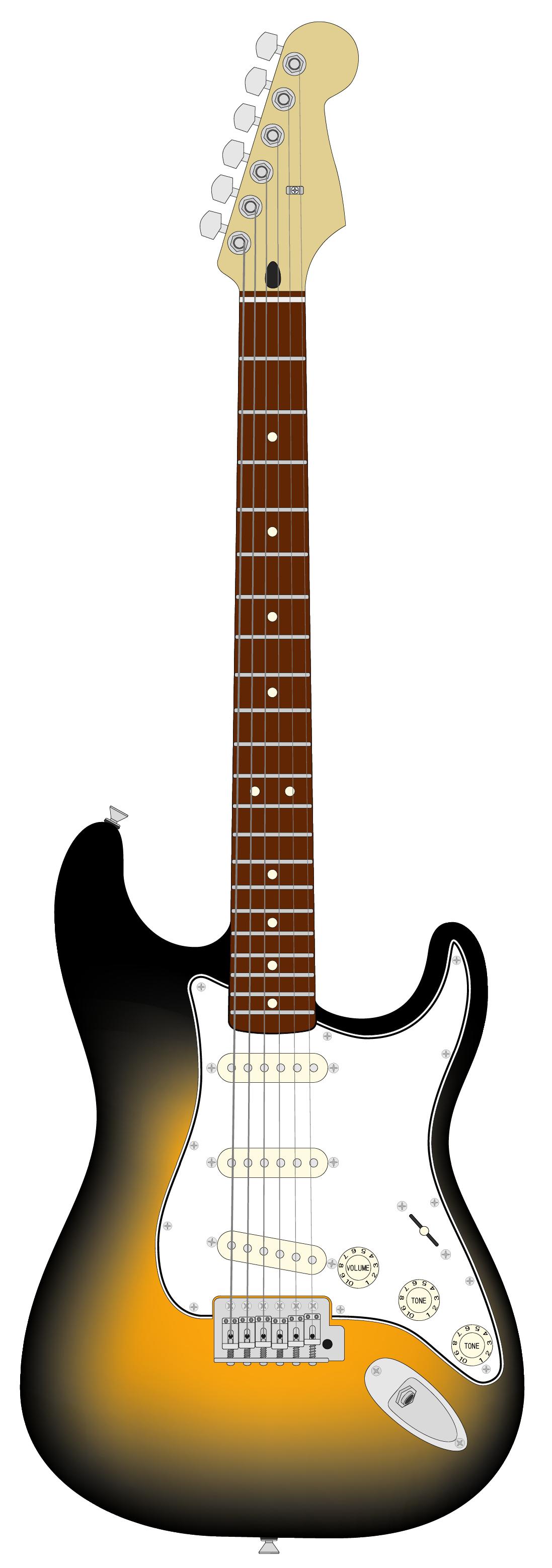 1097x3115 Clip Art Electric Guitar Clip Art