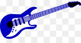260x140 Electric Guitar Bass Guitar Clip Art