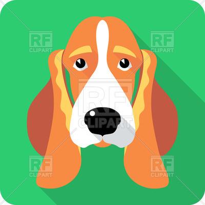 400x400 Dog Basset Hound